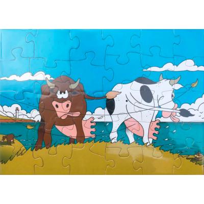 Casse-tête - Vaches